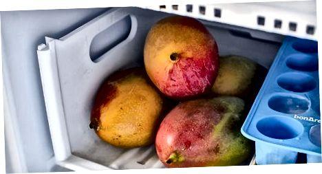 Frystir mangó klumpur