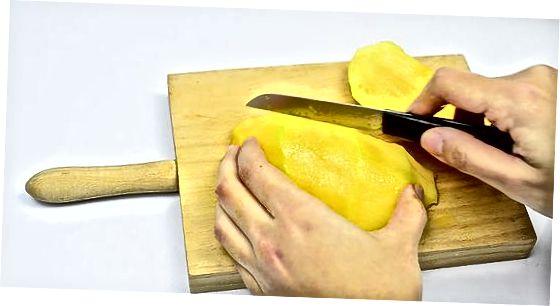 Ofþornun mangó í ofni