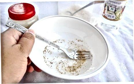 Asosiy bodring salatini tayyorlash