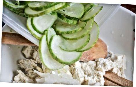 Yunon bodring salatasi