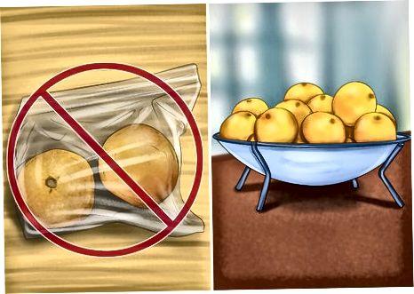 Geyma appelsínur