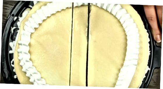 Präzise Schnitte machen, um Kuchen zu lagern