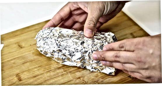 Kemencében sült édes burgonya készítése