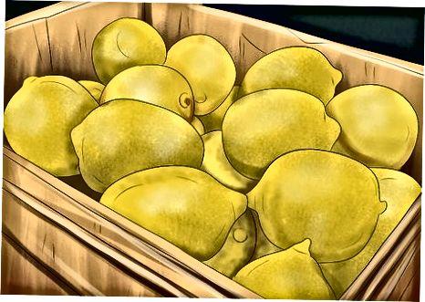 Чување лимуна