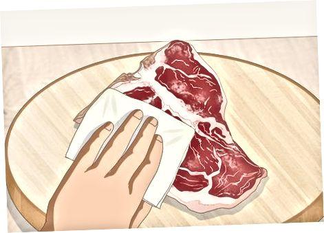 Je steak voorbereiden