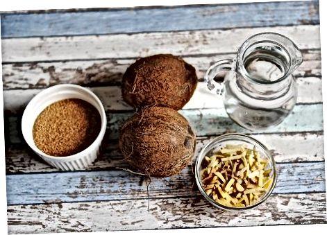 Jamaicaanse kokosnoten maken