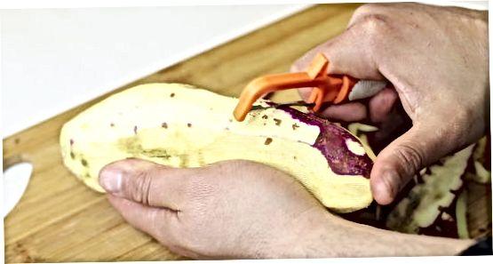 Édes burgonya krumpli főzése