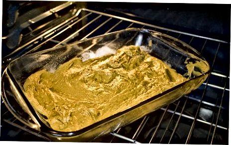 Cozimento com purê de abóbora em vez de ovos e óleo