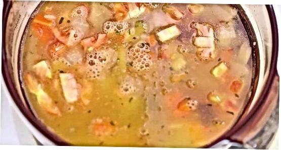 Daržovių pupelių sriuba