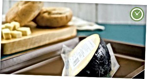 Размарожванне сыра на прылаўку
