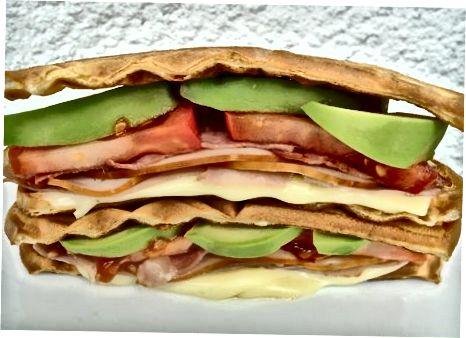 Turkiya klubi vafli sendvich