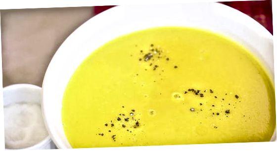 Šilkinė gryna daržovių sriuba