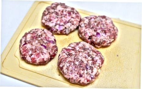Burgers Grill Lamb