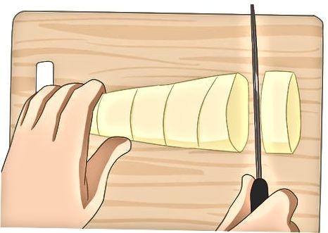 Qaynatilgan xom bambukdan otish