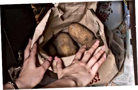 Правильне зберігання картоплі