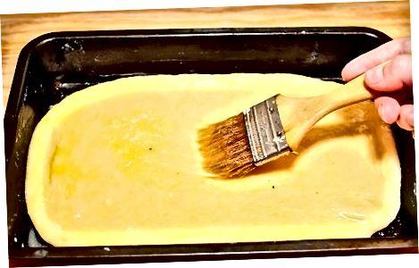 चीज ब्रेड तयार करा आणि बेक करावे