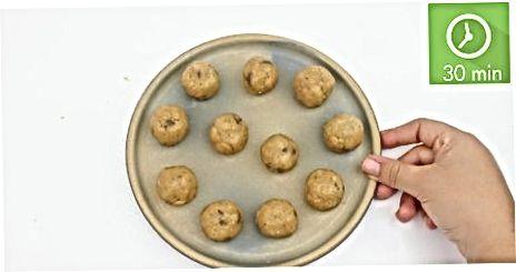 Lage rå cookie deg baller