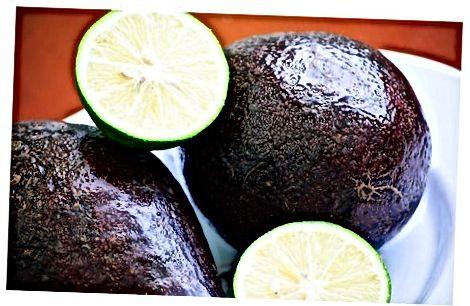 Складзіце ўласны авокада апусканне