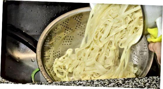მომზადება მაკარონი Al Dente
