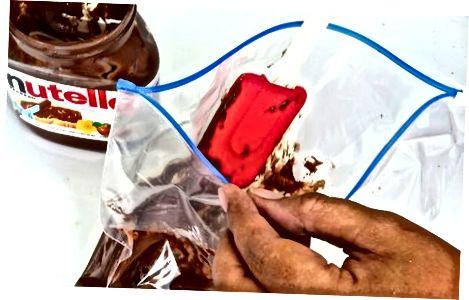 Å lage Nutella Swirl Pannekaker