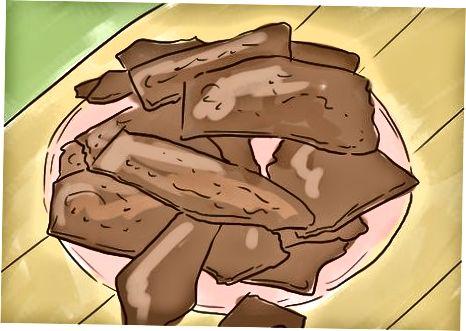 Shirinliklarga kakao niblarini qo'shish