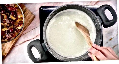 Виготовлення домашнього веганського желе