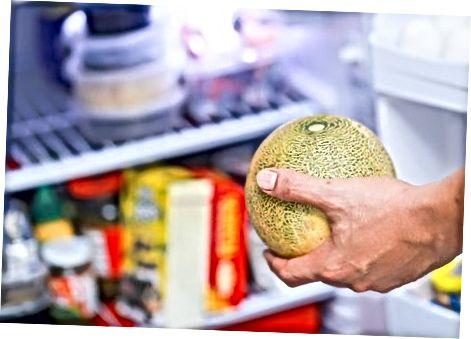Cantaloupe- ს შენახვა და მართვა