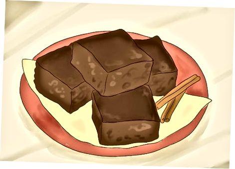 बेकिंग मैक्सिकन चॉकलेट ब्राउनी