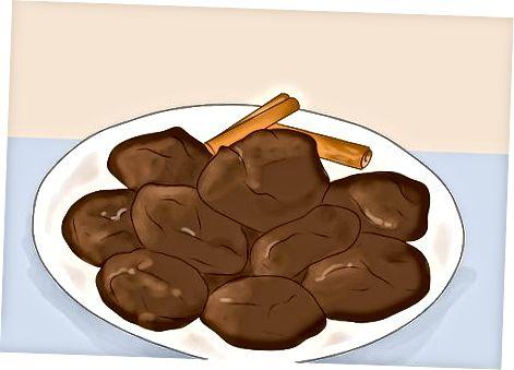 Meksikalik shokolad kukilarini tayyorlash