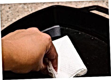 Paistinpanni pesemine pärast kasutamist