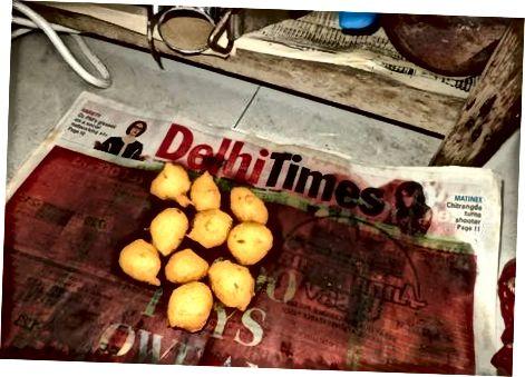 De beignets bakken