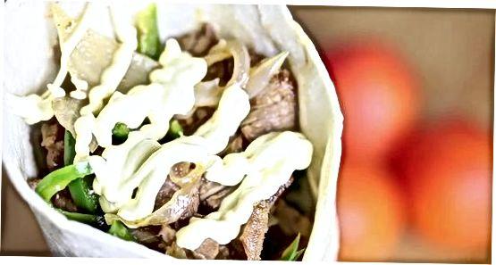 Shawarma sarimsoq sousi