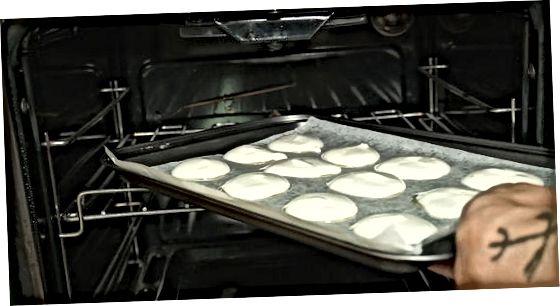 Eenvoudige meringue-cookies maken