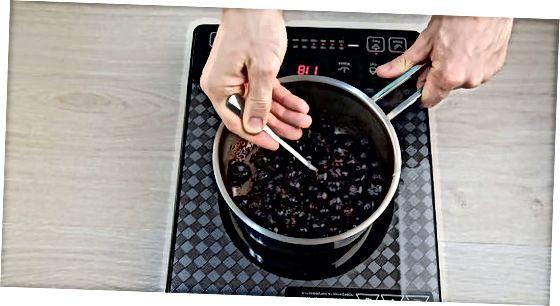 Pishirilgan Blueberry pishloq