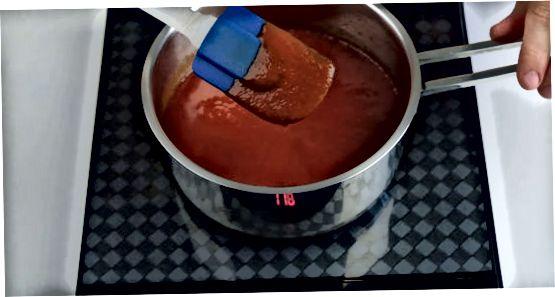 Кухање и смањивање соса