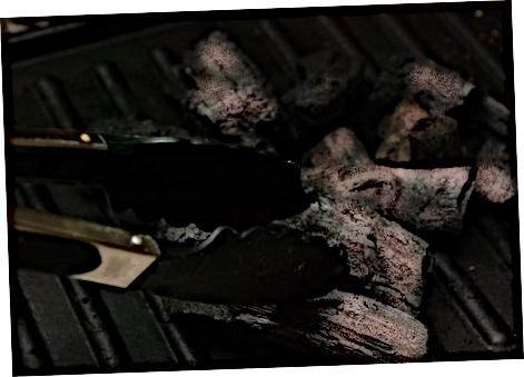 Á Weber grilli eða yfir eldi