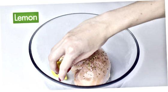 Печење пилећих груди без костију без костију