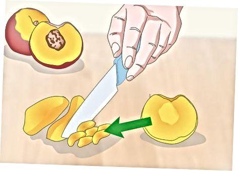 הכנת רוטב חם אפרסק של Habanero