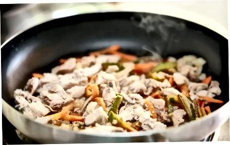 Ushqimi i farave Chia të gatuara