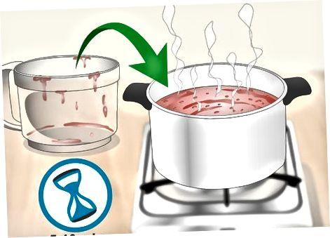 הכנת רוטב חם של הבנורו