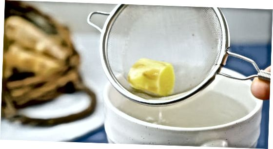 ცხელი ჯანჯაფილის ჩაის მომზადება