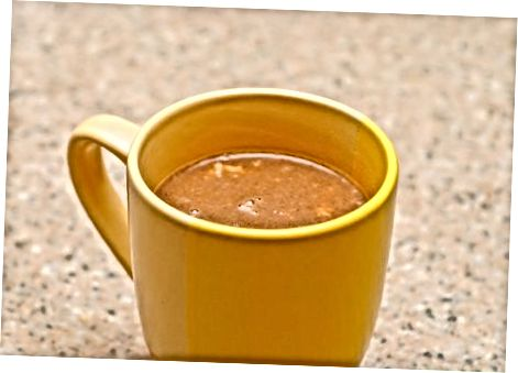 Chocolate quente de bordo picante