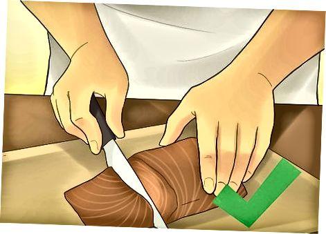 Sigurimi i salmonit është gatuar siç duhet