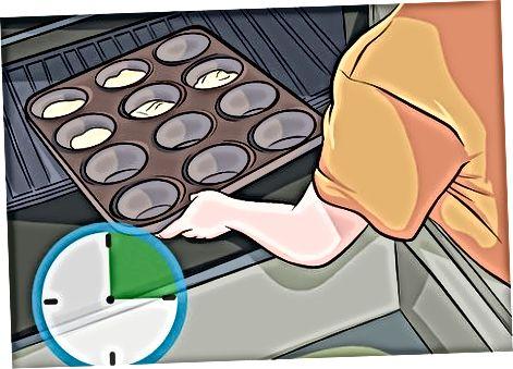 Dandelion Muffinsni pishirish