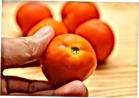 Pomidorlarni muzlatishga tayyorlash
