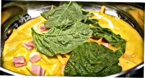 Укључујући сир, месо и поврће