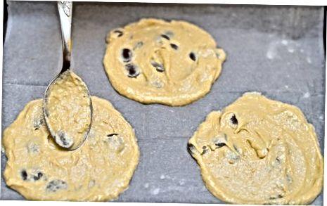 Cookie konuslarini pishirish