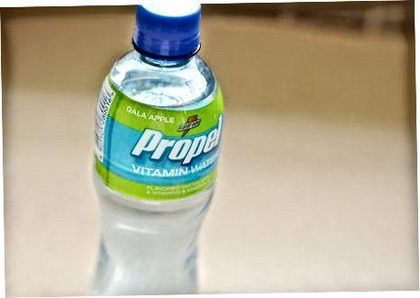 Considere aditivos comerciais para a água