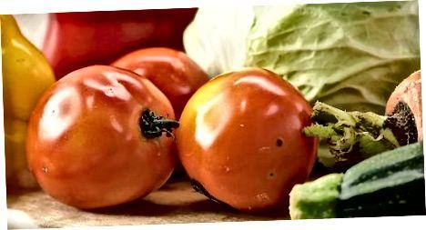 Emmagatzemar verdures que en realitat són fruites