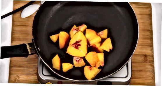 Peach Jam Without Pectin